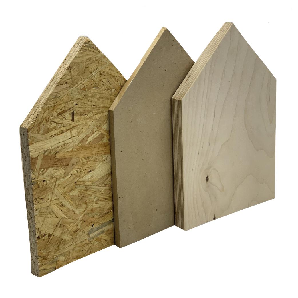 divers soorten houten