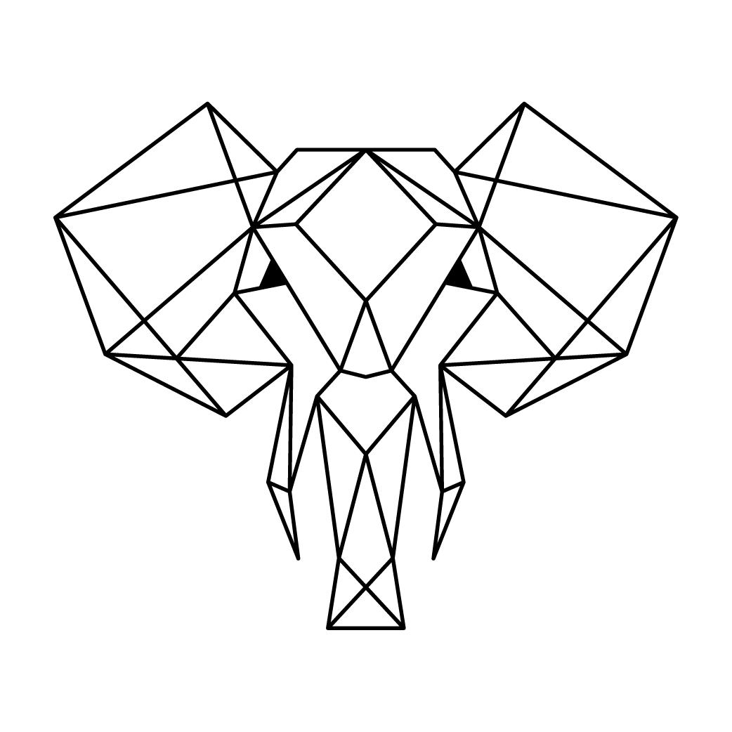Olifant portret