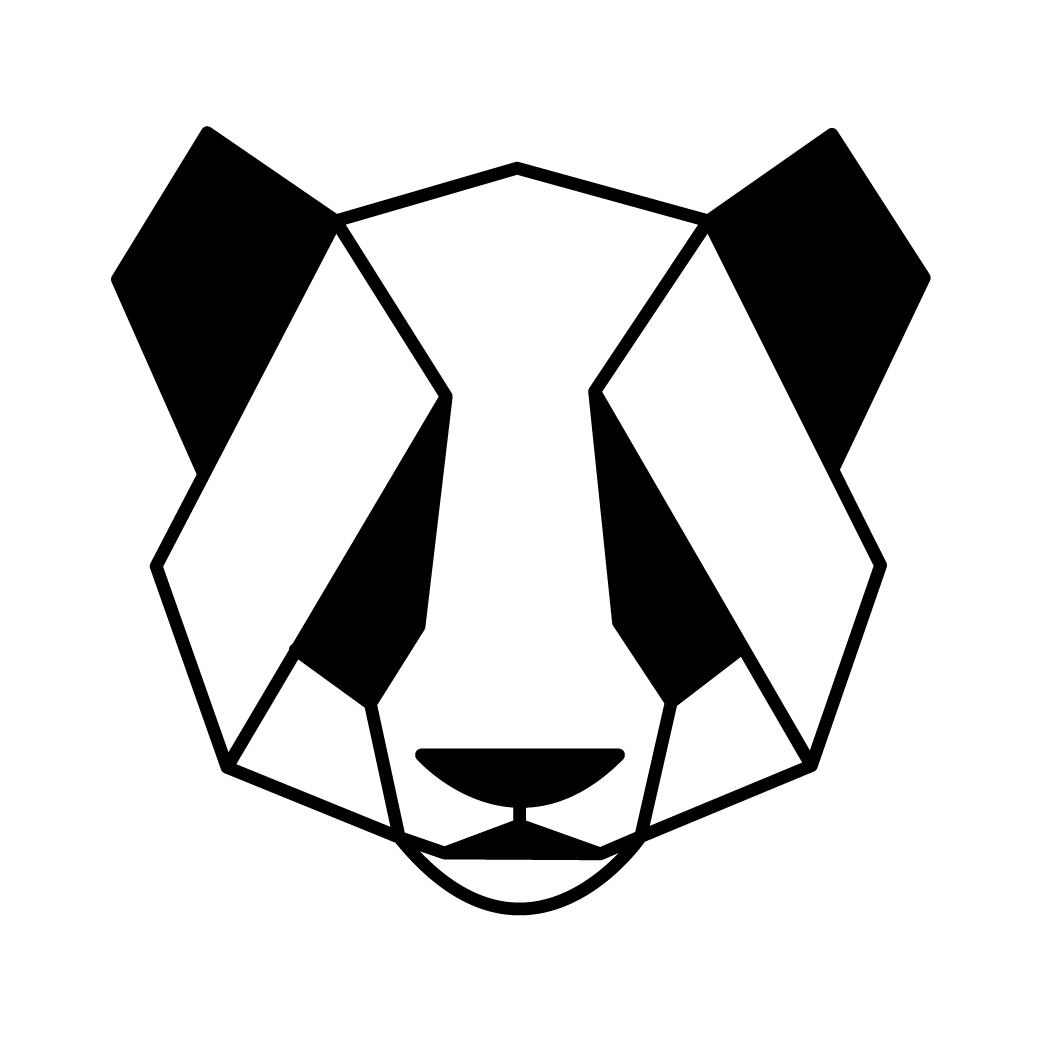 Panda portret